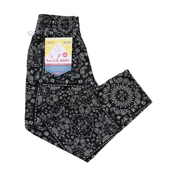 Cookman™️ Chef Pants #Paisley Black