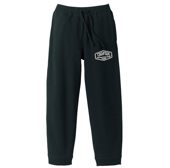 2021 logo Sweat pants #Black