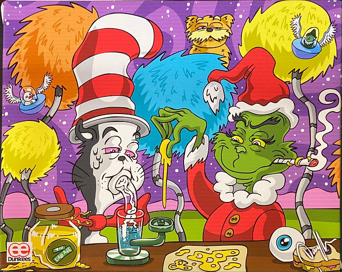 DUNKEES #Stole 420 Canvas Print
