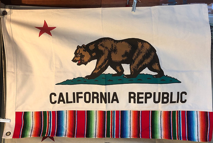 California Flag #Serape S
