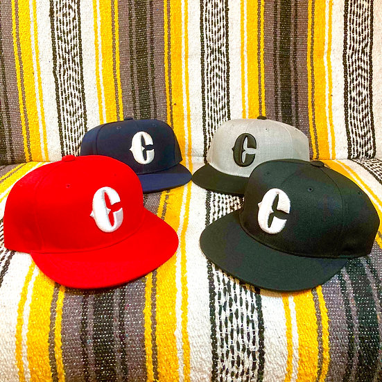 BIG-C 3D CAP #Black or Gray or Navy or Red