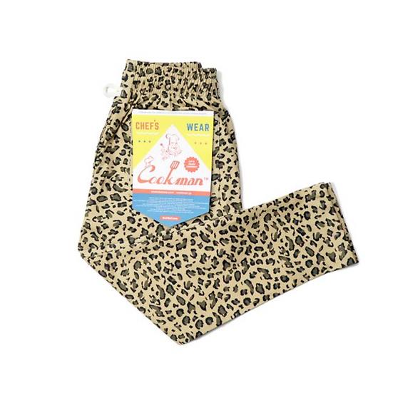 Cookman™️ Chef Pants Kids Size #Leopard