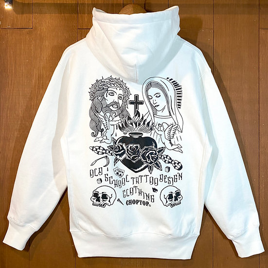 Sacred heart Hoodie #White or Gray or Black