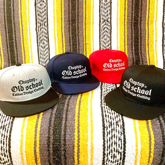OLD SCHOOL CAP #Black or Gray or Navy or Red