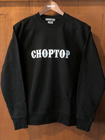 CHOPTOP logo sweat #Black