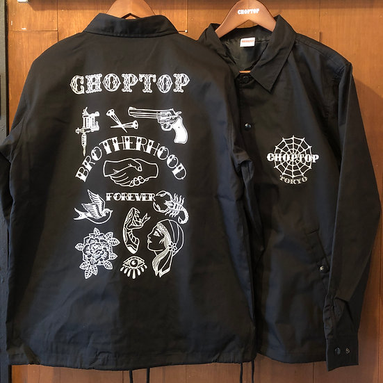BROTHERHOOD Coach Jacket #Black