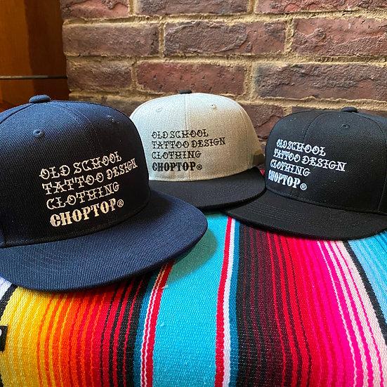 CHOPTOP word CAP #Black or Gray or Navy