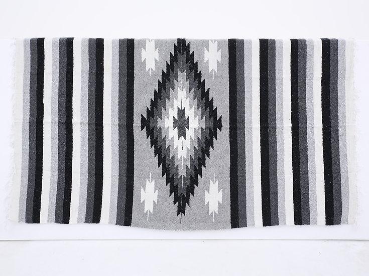 メキシカンブランケット(Diamante:GRAY/BLACK/WHITE)