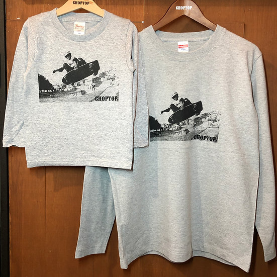 Skaters L/S tee #Gray