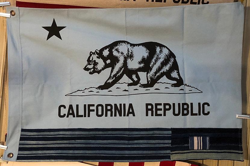 California Flag #Indigo blue S
