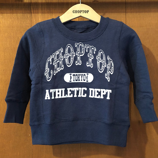 ATHLETIC DEPT KIDS-sweat #Clear navy