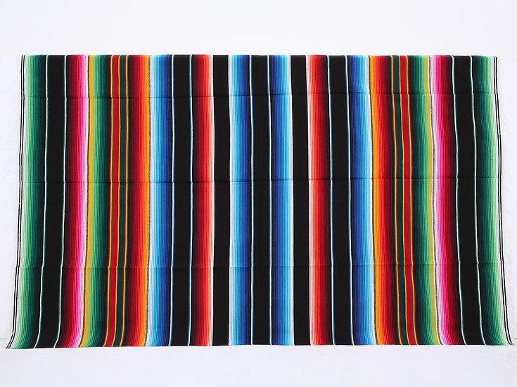 メキシカンブランケット(Saltillo Serape:BLACK)