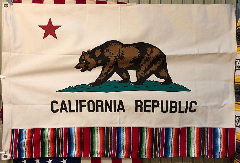 California Flag #Serape M