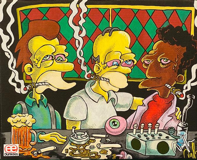 DUNKEES #Dab Bar Canvas Print