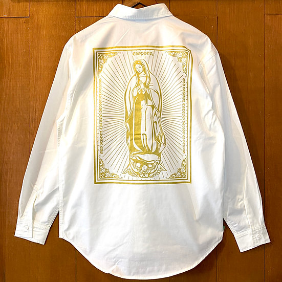 Holy mother Work long sleeve #Off white or Mocha beige