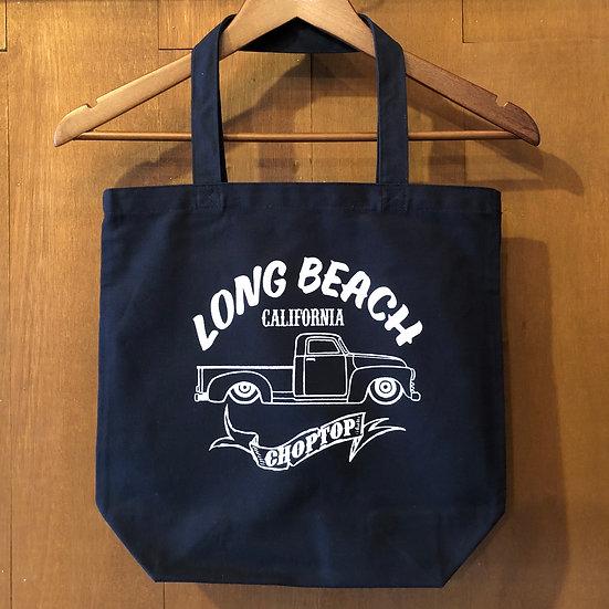 キャンバストートバック M・Lサイズ ネイビー#Long Beach Pickup