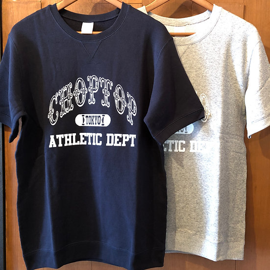 ATHLETIC DEPT Sweat short sleeve #Navy or Gray