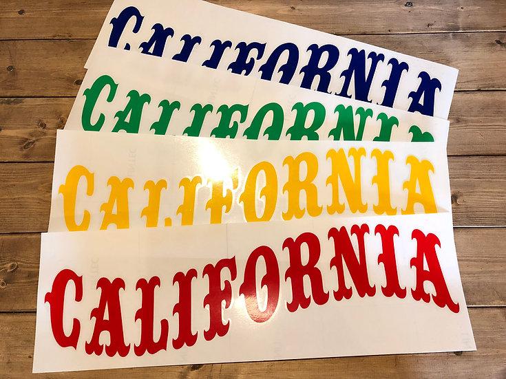 BIG CALIFORNIA Cutting sticker