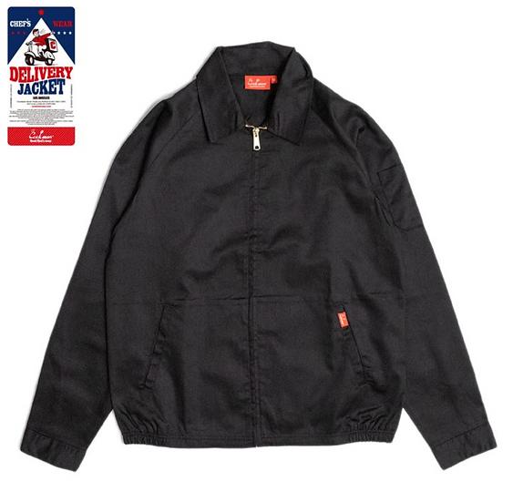 Cookman™️ Delivery Jacket #Black