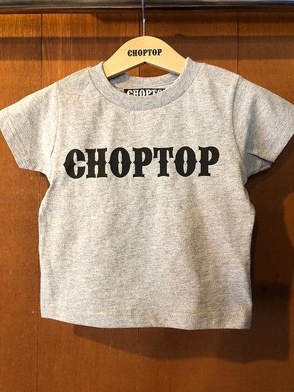 CHOPTOP logo KIDS-tee #Gray