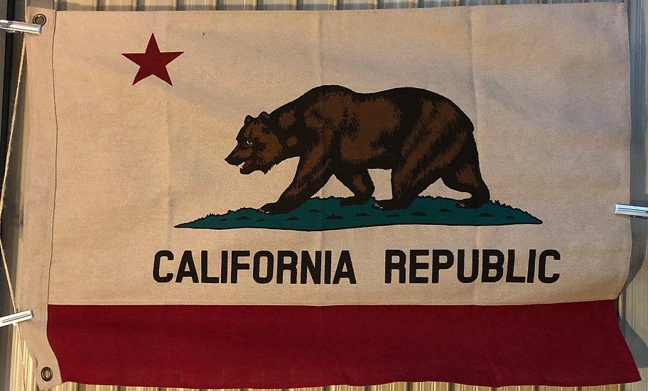 California Flag #Linen S