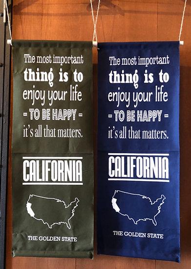 CALIFORNIA タペストリー -TO BE HAPPY-