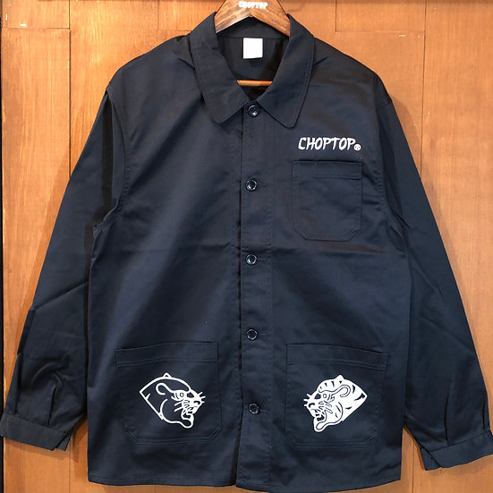 Panther&Tiger Coverall Jacket #Dark Navy