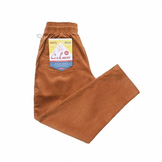 Cookman™️ Chef Pants Corduroy #Brown