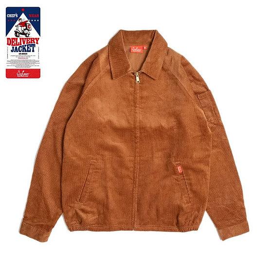 Cookman™️ Delivery Jacket Corduroy #Brown