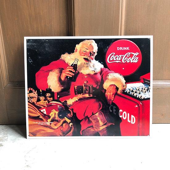 Coca Cola Sign #Coca Cola Santa