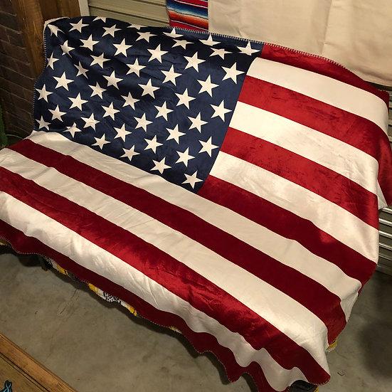 Reversible Blanket #USA Flag