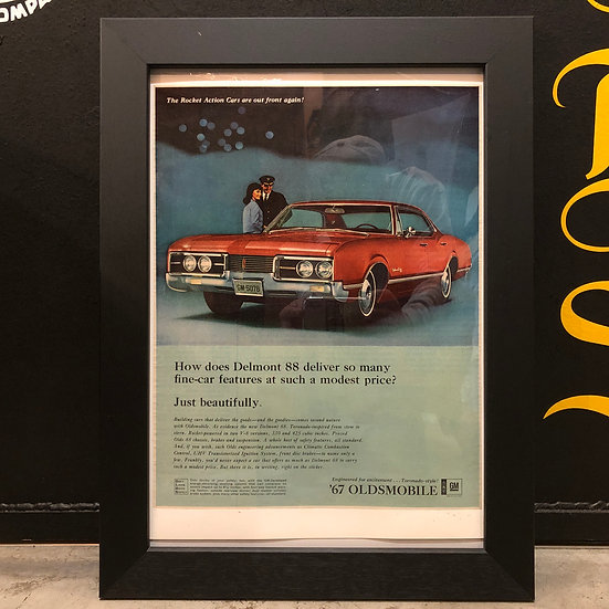 Vintage flyer #1967's Oldsmobile Delmont 88