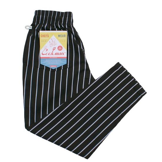 Cookman™️ Chef Pants #Stripe Black
