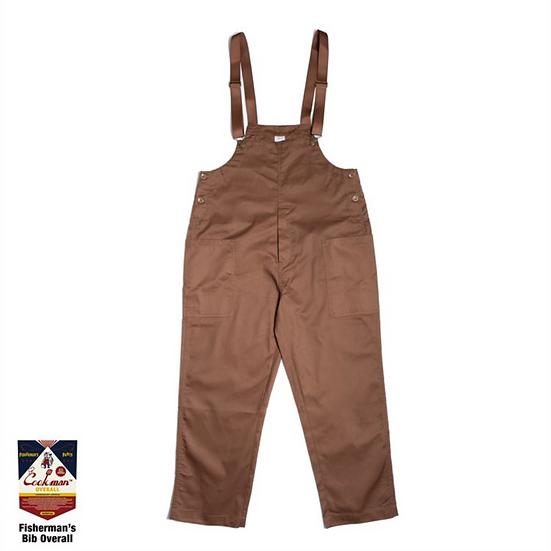 Cookman™️ Fisherman's Bib Overall #Chocolate