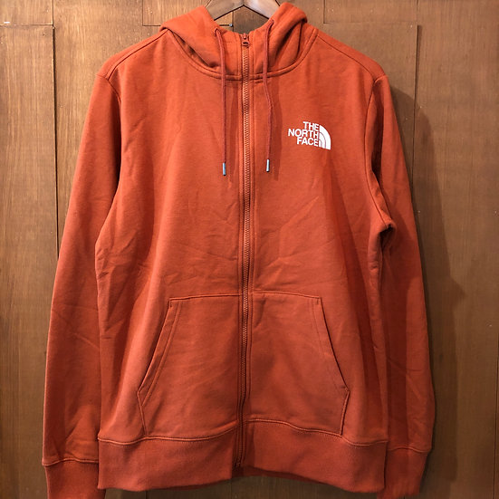 THE NORTH FACE #ZIP Hoodie/Orange-brown
