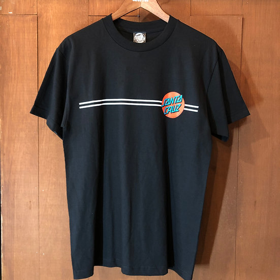 SANTA CRUZ #SC OTHER DOT S/S tee Black