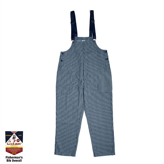 Cookman™️ Fisherman's Bib Overall #Hickory