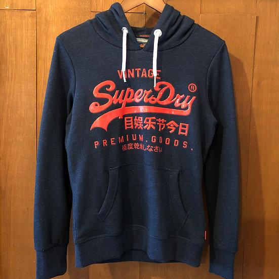 Superdry 極度乾燥(しなさい) #3D LOGO Hoodie/Navy