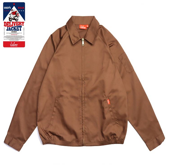 Cookman™️ Delivery Jacket #Chocolate
