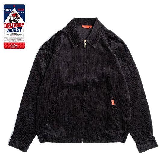 Cookman™️ Delivery Jacket Corduroy #Black