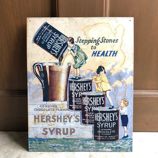 HERSHEY'S Sign #HERSHEY'S SYRUP