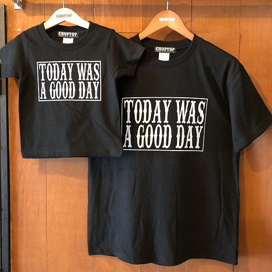 Good day tee #Black