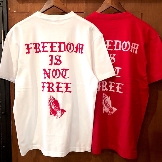 FREEDOM tee #White or Red