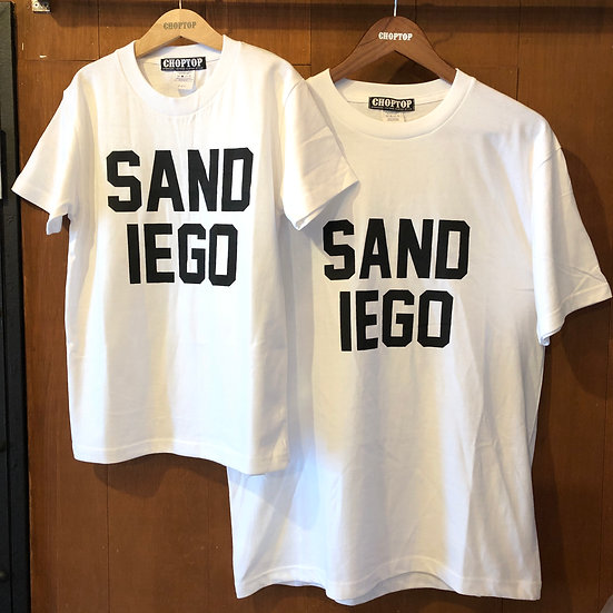 SANDIEGO tee #White