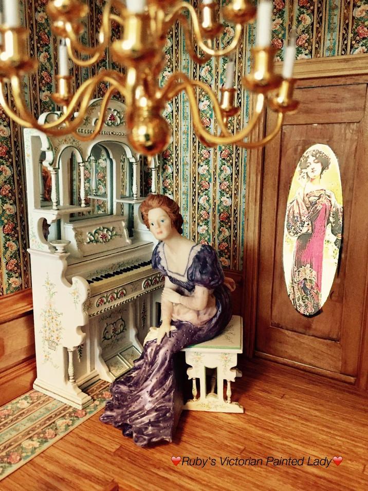 Foyer Organ with Organist.JPG