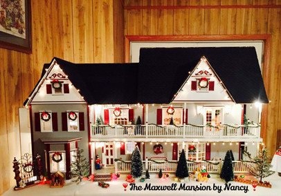 The Maxwell Mansion by Nancy Christmas.J