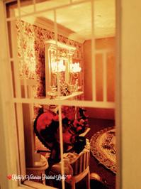 Rose Master Bedroom View through Window