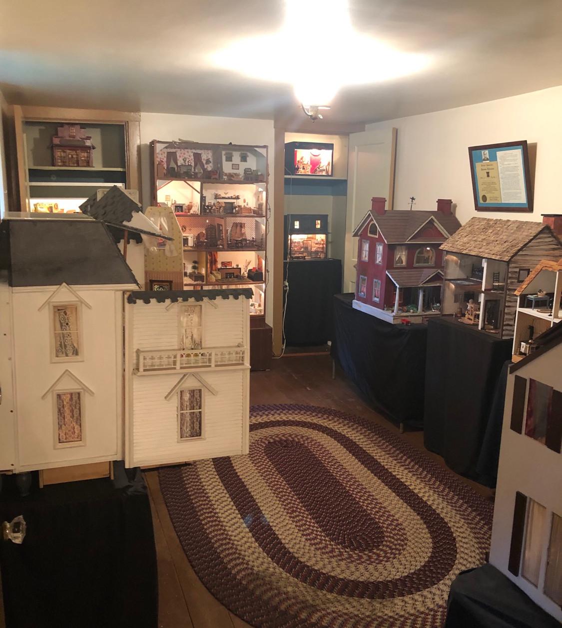 McGinley House Dollhouse Room