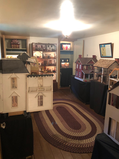 the QP Team visits the McGinley House Dollhouse Room