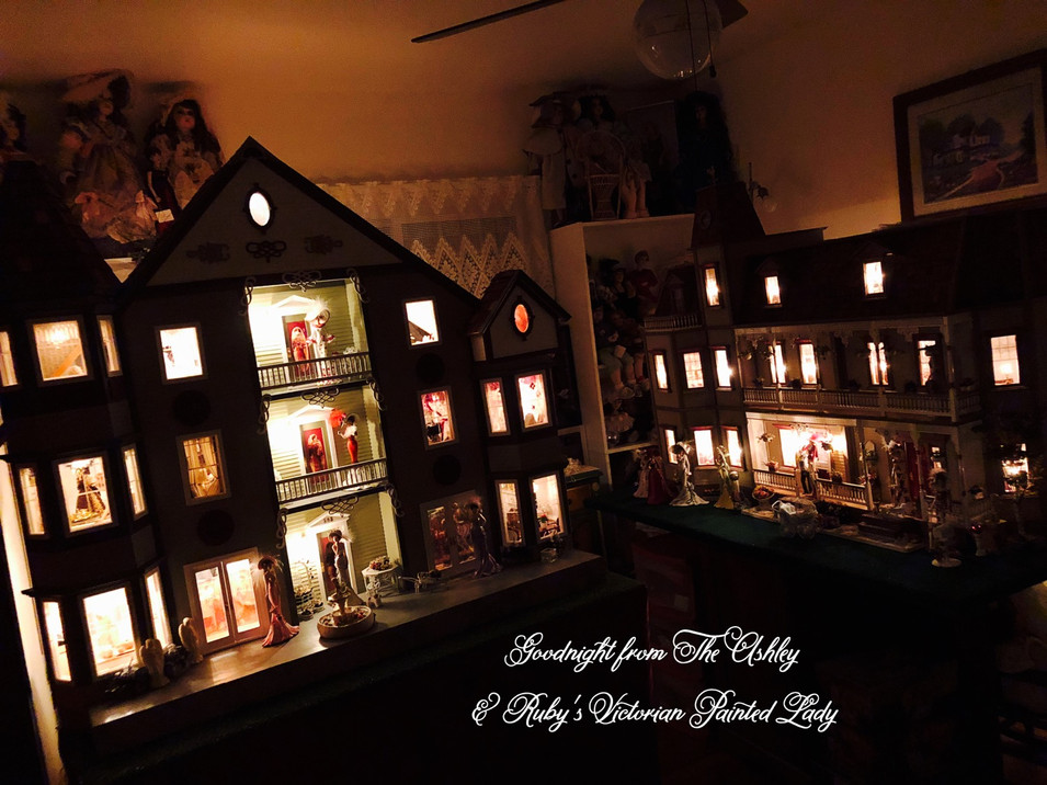 Goodnight from Ruby's Dollhouses